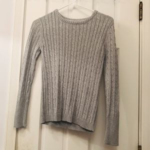 Sparkly Light Silver Sweater
